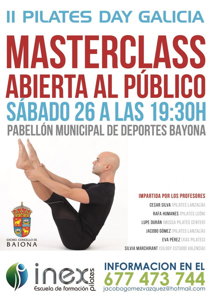 ii pilates day clases