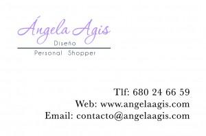 angela agis tarjeta