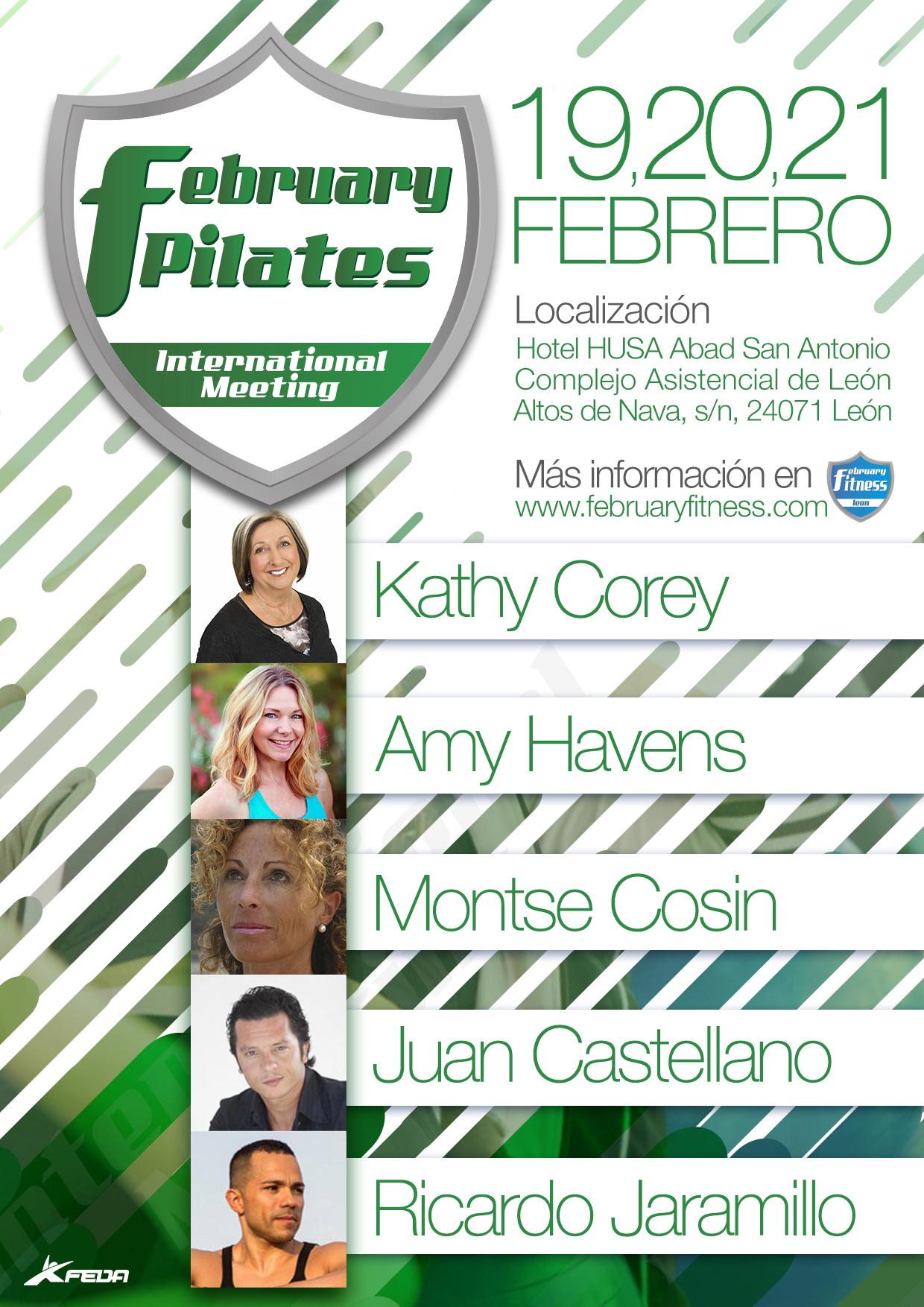February Pilates International Meeting | Fuente Pilates