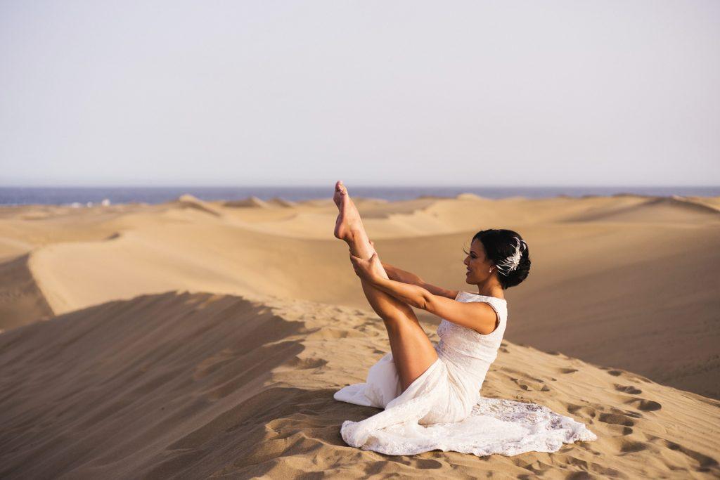 Pilates en el desierto