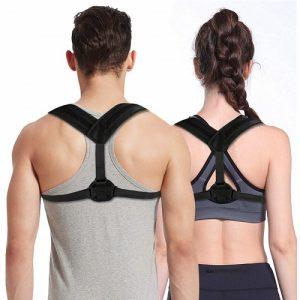 Corrector de postura adaptable tanto a cuerpos grandes como más menudos y cómodo de llevar bajo la ropa del día a día. / Fuente de imagen: www.amazon.es