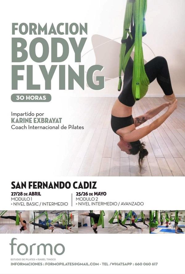 Bodyflying 1 - Formación Body Flying. Certificación Aereo Pilates