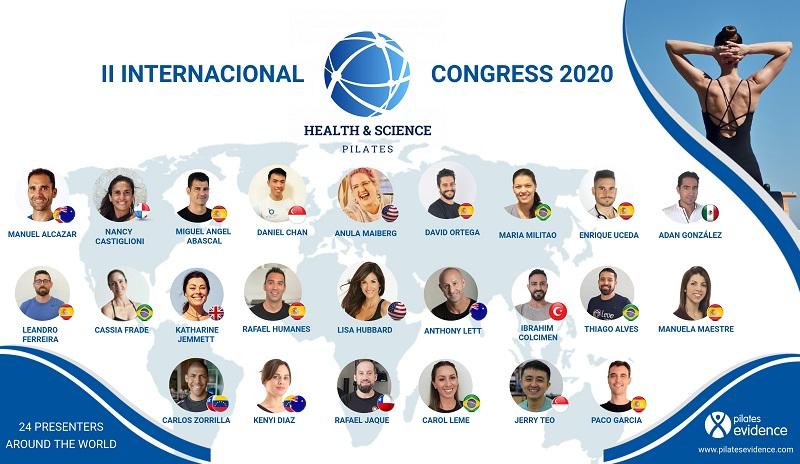 congreso pilatesevidence - II Cogreso online Health & Science Pilates