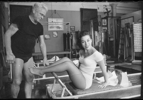 Elaine Malbin pilates - Serendipia: Original Pilates Photos