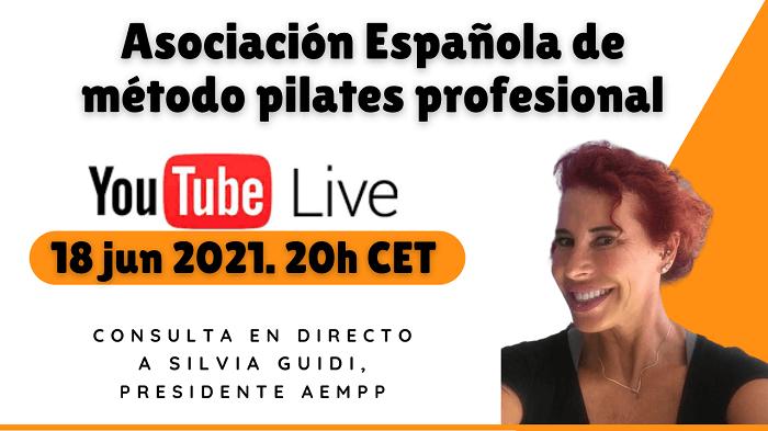 Silvia Guidi Asociacion Espanola Pilates 700 - Nace la Asociación Española de método pilates profesional