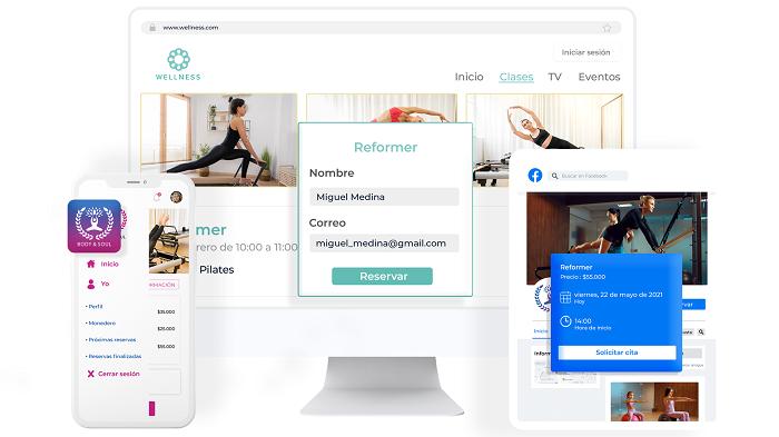 Reservas online app Bewe 700 - Gestión de negocio