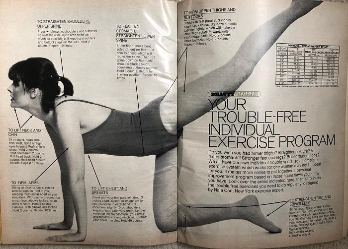 "judith letts body economics - Body Economics, la ""gimnasia"" de Naja Cori"