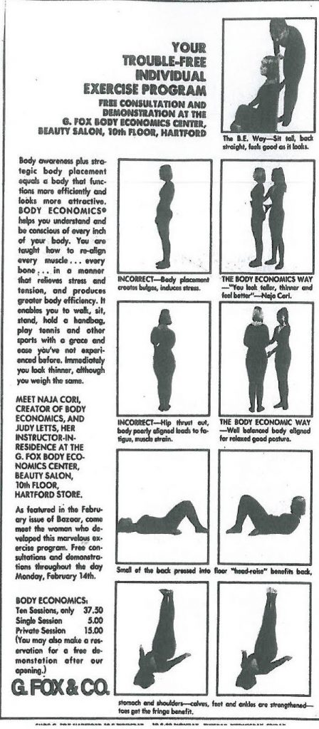 "judith letts green 448x1024 - Body Economics, la ""gimnasia"" de Naja Cori"
