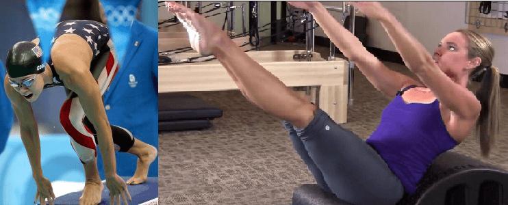 02 NATALIE COUGHLIN Pilates - Los deportistas profesionales eligen Pilates
