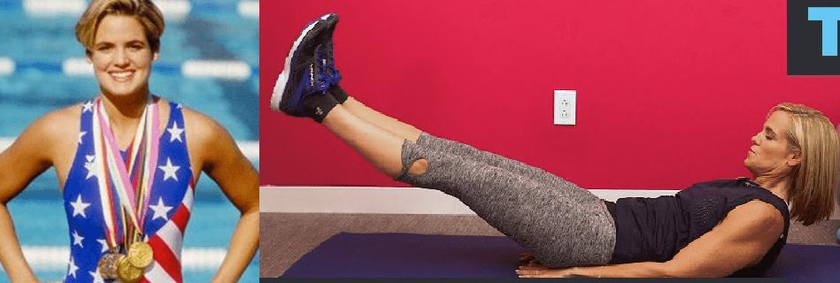 06 DARA TORRES Pilates 1 - Los deportistas profesionales eligen Pilates