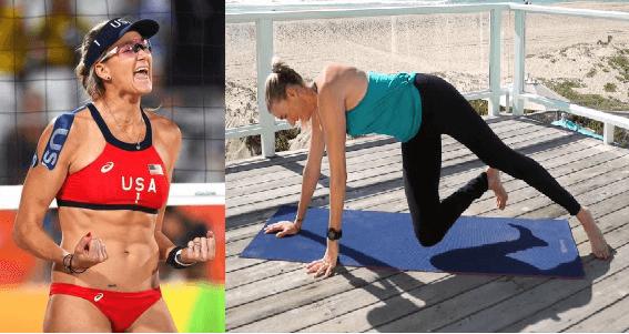 08 KERRY WALSH JENNINGS Pilates - Los deportistas profesionales eligen Pilates