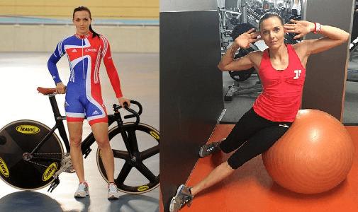 10 VICTORIA PENDLENTON Pilates - Los deportistas profesionales eligen Pilates
