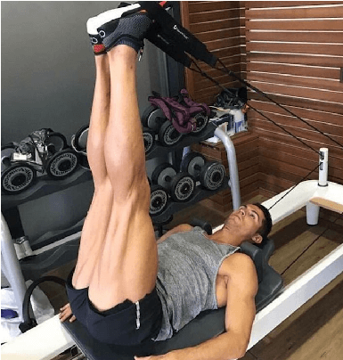 11 Cristiano Ronaldo Pilates